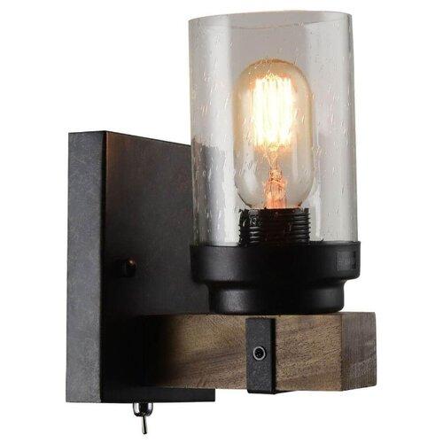 Бра Arte Lamp Dodge A1693AP-1BR, с выключателем, 60 Вт настенный светильник arte lamp bevel a9330ap 1br 60 вт