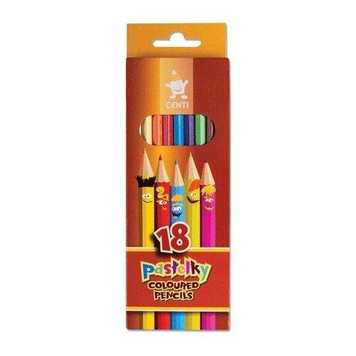 Купить KOH-I-NOOR Карандаши цветные Centi, 18 цветов (2143018002KS), Цветные карандаши