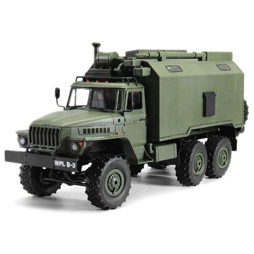 Купить Грузовик WPL B36 KM (Урал) 1:16 42.4 см зеленый, Радиоуправляемые игрушки