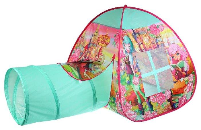 Палатка Играем вместе Королевская академия с тоннелем в сумке GFA-TONRA01-R