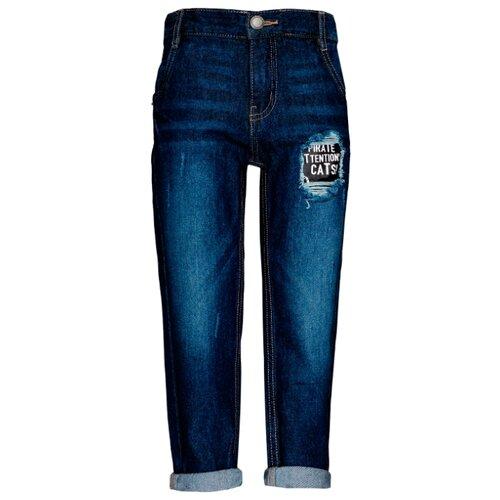 Купить Джинсы Button Blue размер 158, темно-синий