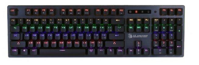 Клавиатура A4Tech Bloody B760 Black USB