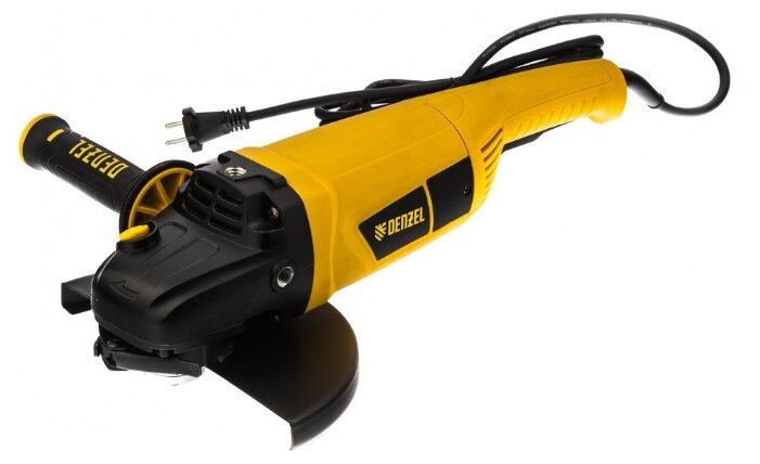 УШМ Denzel AG230-2600, 2600 Вт, 230 мм