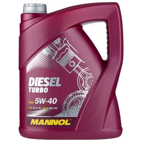 Моторное масло Mannol Diesel Turbo 5W-40 5 л