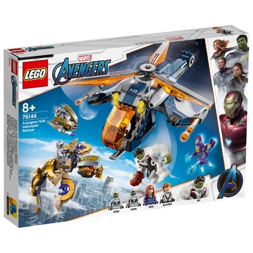 Купить Конструктор LEGO Marvel Super Heroes 76144 Мстители: Спасение Халка на вертолёте, Конструкторы