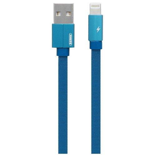 Кабель Remax Kerolla USB - Apple Lightning (RC-094i) 1 м синий кабель remax kerolla usb usb type c rc 094a 1 м синий