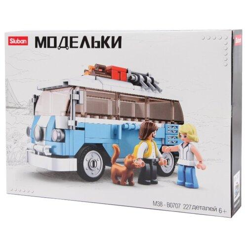 Купить Конструктор SLUBAN Модельки M38-B0707 Фургон, Конструкторы