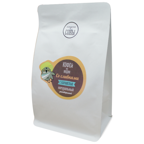Кофе растворимый Кофе со сливками и карамелью Жаворонки и Совы, 345 г