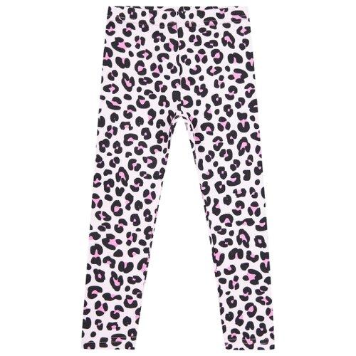 Леггинсы Leader Kids ЛКЛ20215287 размер 140, розовый/черный