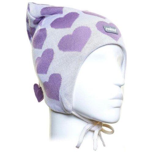 Шапка Reima размер 48, white шапка reima размер 48 pink