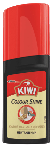 Kiwi Colour Shine Крем-блеск для обуви жидкий нейтральный — купить по выгодной цене на Яндекс.Маркете