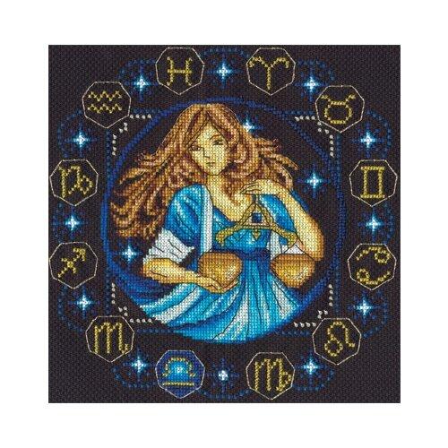 Фото - Набор для вышивания ZN-0928 ( ЗН-0928 ) Знаки Зодиака. Весы dl 0928