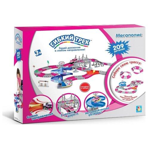 Трек 1 TOY Мегаполис Т10197 (209 деталей) трек 1 toy мегаполис т10200