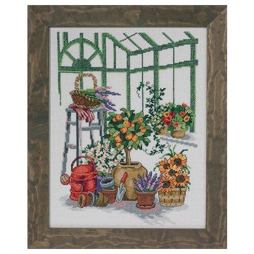 Купить Набор для вышивания Оранжерея 29 х 37 см 70-3105, Permin, Наборы для вышивания