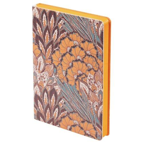 Ежедневник Принтэссенция Пастораль недатированный, искусственная кожа, оранжевый