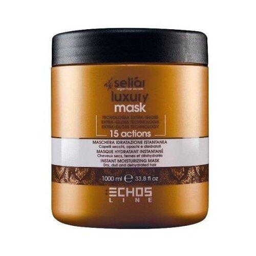Echosline Seliar Luxury Маска для волос Мгновенное увлажнение, 1000 мл