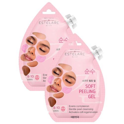 Estelare маска-скатка для лица обновляющая 20 мл 2 шт. обновляющая маска с полифенолами винограда 90 мл swisspure для лица