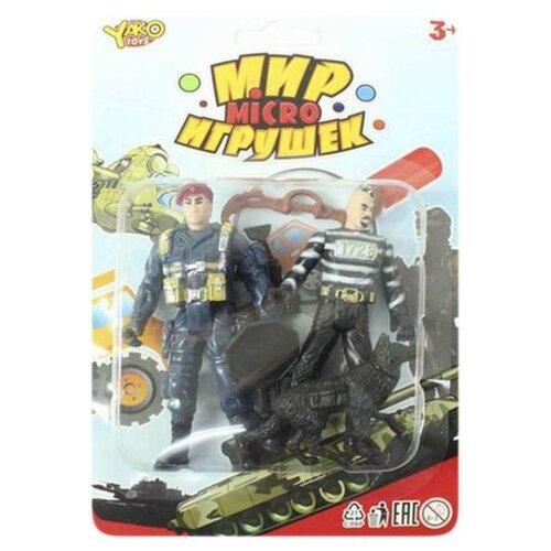 Купить Игровой набор Yako Мир игрушек Micro Полиция M7603, Игровые наборы и фигурки