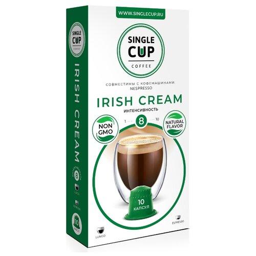 Кофе в капсулах Single Cup Irish Cream (10 капс.) кофе в капсулах single cup decaf 10 капс