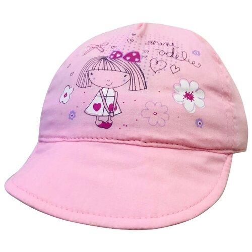 Купить Бейсболка Be Snazzy размер 46, светло-розовый, Головные уборы