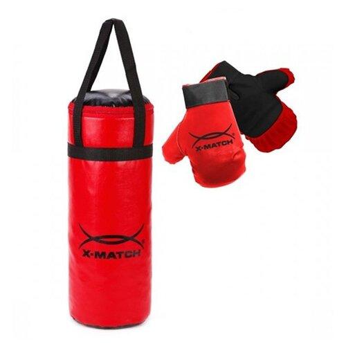 Набор для бокса X-Match 87731 красный