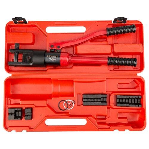 Фото - Пресс гидравлический REXANT CT-300 для наконечников 10-300 мм² инструмент iek tkl10 004 пресс гидравлический ручной пгр 300 10 300 мм кв