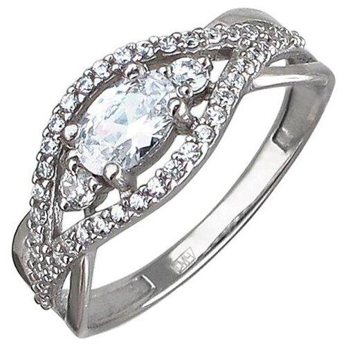 Эстет Кольцо с 43 фианитами из серебра 01К1510762, размер 17 эстет кольцо с 43 фианитами из серебра н11к152891 размер 17