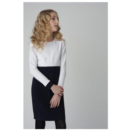 Платье Gulliver размер 170, белый платье oodji ultra цвет красный белый 14001071 13 46148 4512s размер xs 42 170