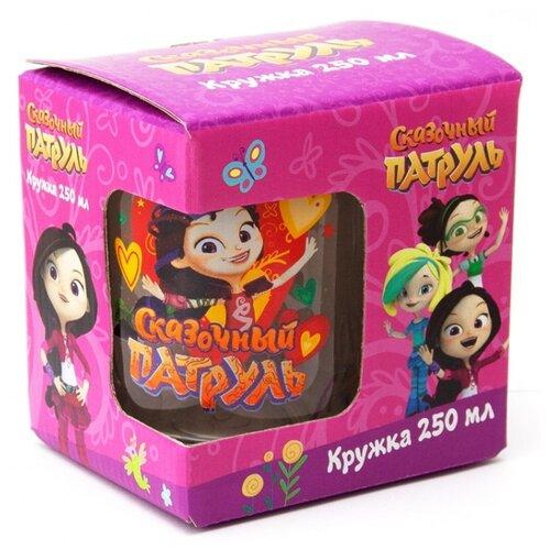 ND Play Кружка Сказочный Патруль Варя (подарочная упаковка) 250 мл 282144 прозрачный/красный недорого
