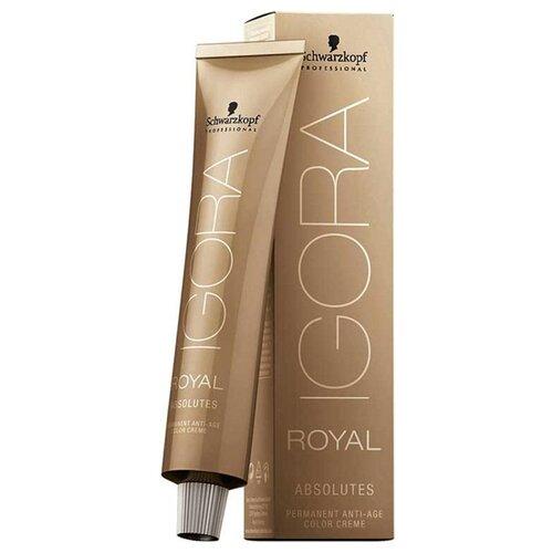 Schwarzkopf Professional Igora Royal краситель для волос Absolutes, 4-50 средний коричневый Золотистый натуральный, 60 мл по цене 600