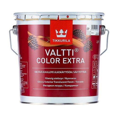 Водозащитная пропитка Tikkurila Valtti Color Extra бесцветный 2.7 л