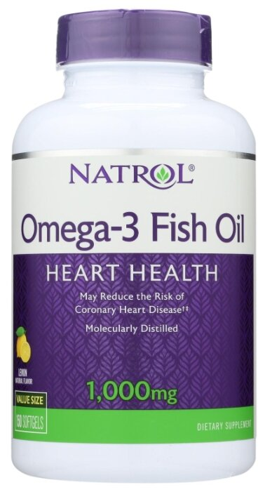Natrol Omega-3 Fish Oil 1000mg 90caps (90 капс.)