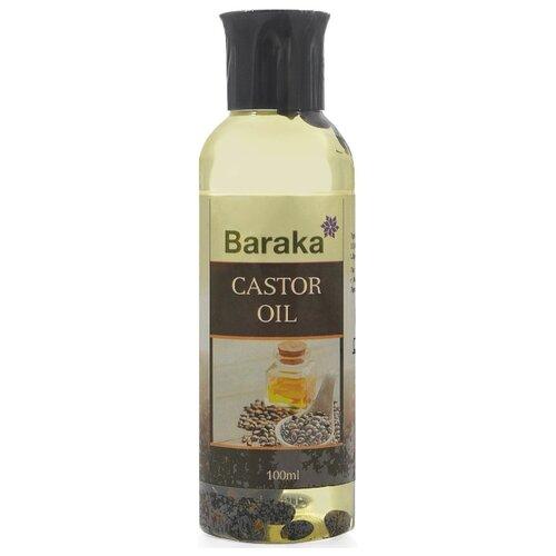 Baraka Масло касторовое для волос, 100 мл несмываемое масло для волос