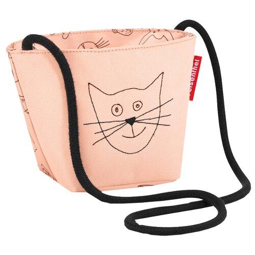 Сумка reisenthel Minibag Cats and dogs IV4062/IV3064, текстиль, розовый фото