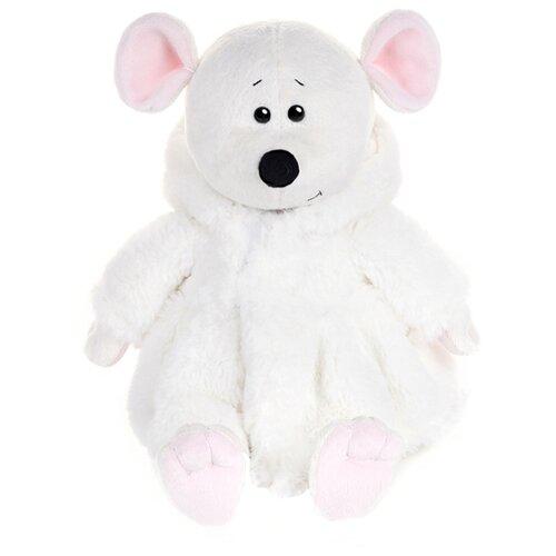 Купить Мягкая игрушка Maxitoys Мышка Мила в белой шубке 21 см, Мягкие игрушки