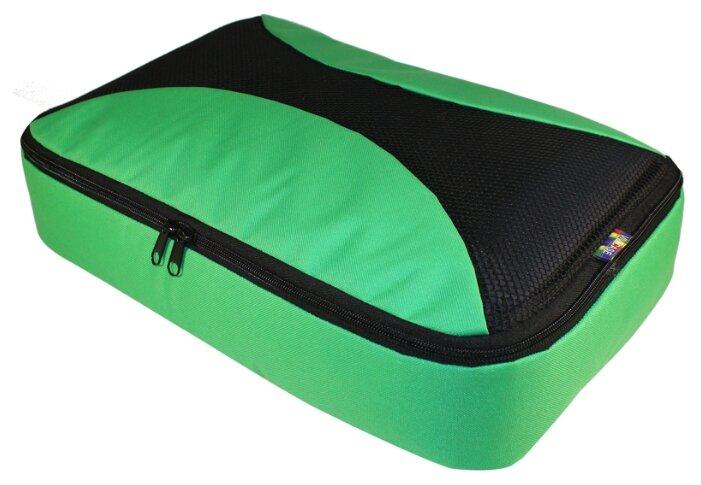 VIVACASE Органайзеры дорожные для обуви 35х13х10 оксфорд, зеленый (VOC-ROOS351310-green)