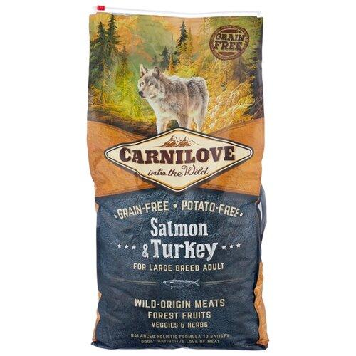 Корм для собак Carnilove Carnilove Salmon & Turkey for Large breed adult dogs (12 кг) 12 кг (для крупных пород)