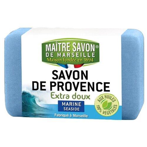 Мыло кусковое Maitre Savon de Marseille Свежесть моря, 100 г цена 2017