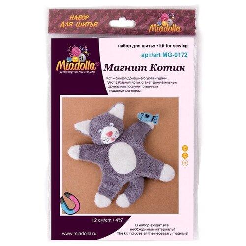 Купить Miadolla Наборы для шитья Магнит Котик (MG-0172), Изготовление кукол и игрушек