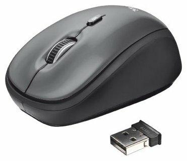 Мышь беспроводная Xiaomi Mi Wireless Mouse черная USB