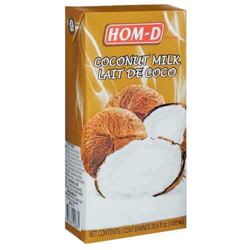 Молоко кокосовое Hom-D Lait de coco 19%, 1 л malee напиток кокосовое молоко 0 33 л
