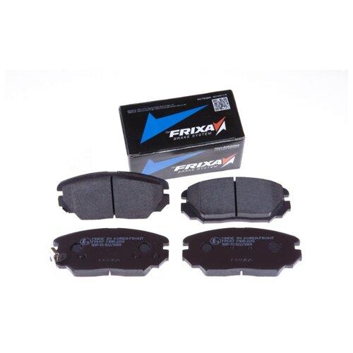 Дисковые тормозные колодки передние Frixa FPH17 для Hyundai Sonata, Hyundai Tucson, Kia Magentis (4 шт.) цена 2017