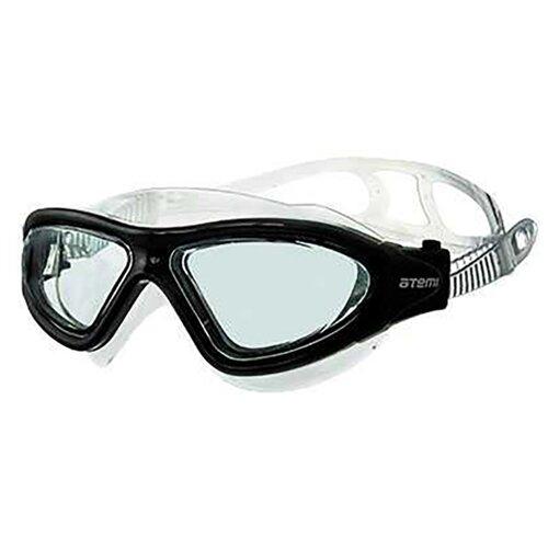Фото - Очки-маска для плавания ATEMI Z102/Z101 прозрачный/черный очки маска для плавания atemi z401 z402 синий серый