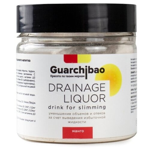 Guarchibao Дренажный напиток Drainage Liquor Манго, 75 г
