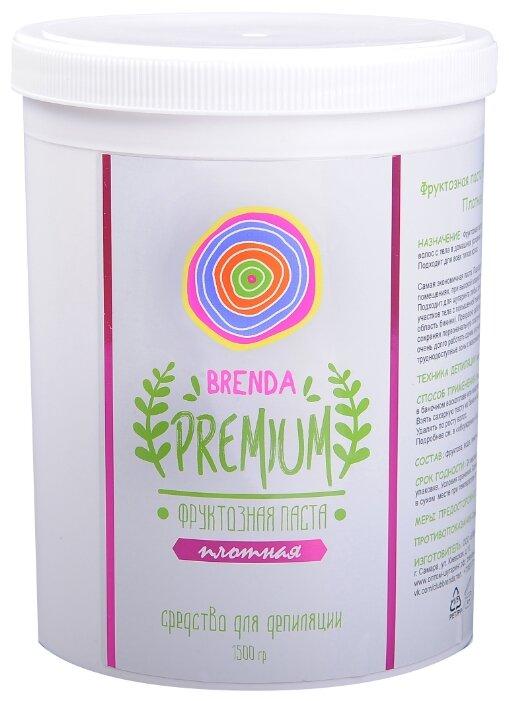 Паста для шугаринга Brenda фруктозная Premium плотная