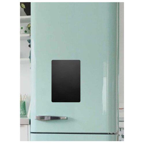 Доска на холодильник магнитно-меловая Doski4you Малая комплект (30х20 см) черный магнитно грифельная доска на холодильник время обеда черная