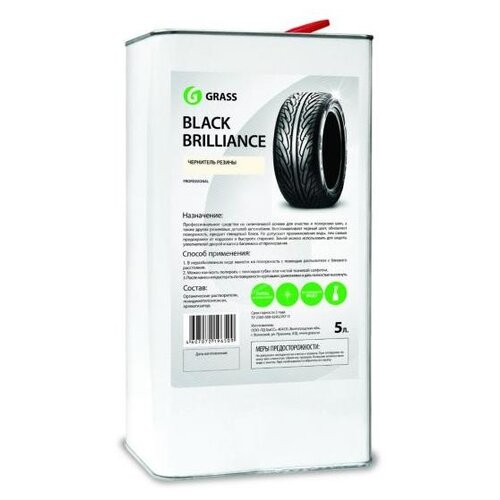 Полироль для шин GraSS 125101, 5 л 1 шт.