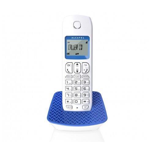 Купить Радиотелефон Alcatel E132 white/blue