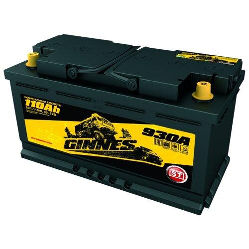 Автомобильный аккумулятор GINNES ST 6CT-110.0 ёмкость 110 Ач полярность 0 обратная