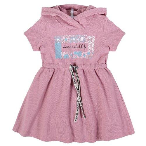 Платье Мамуляндия размер 110, темно-розовый
